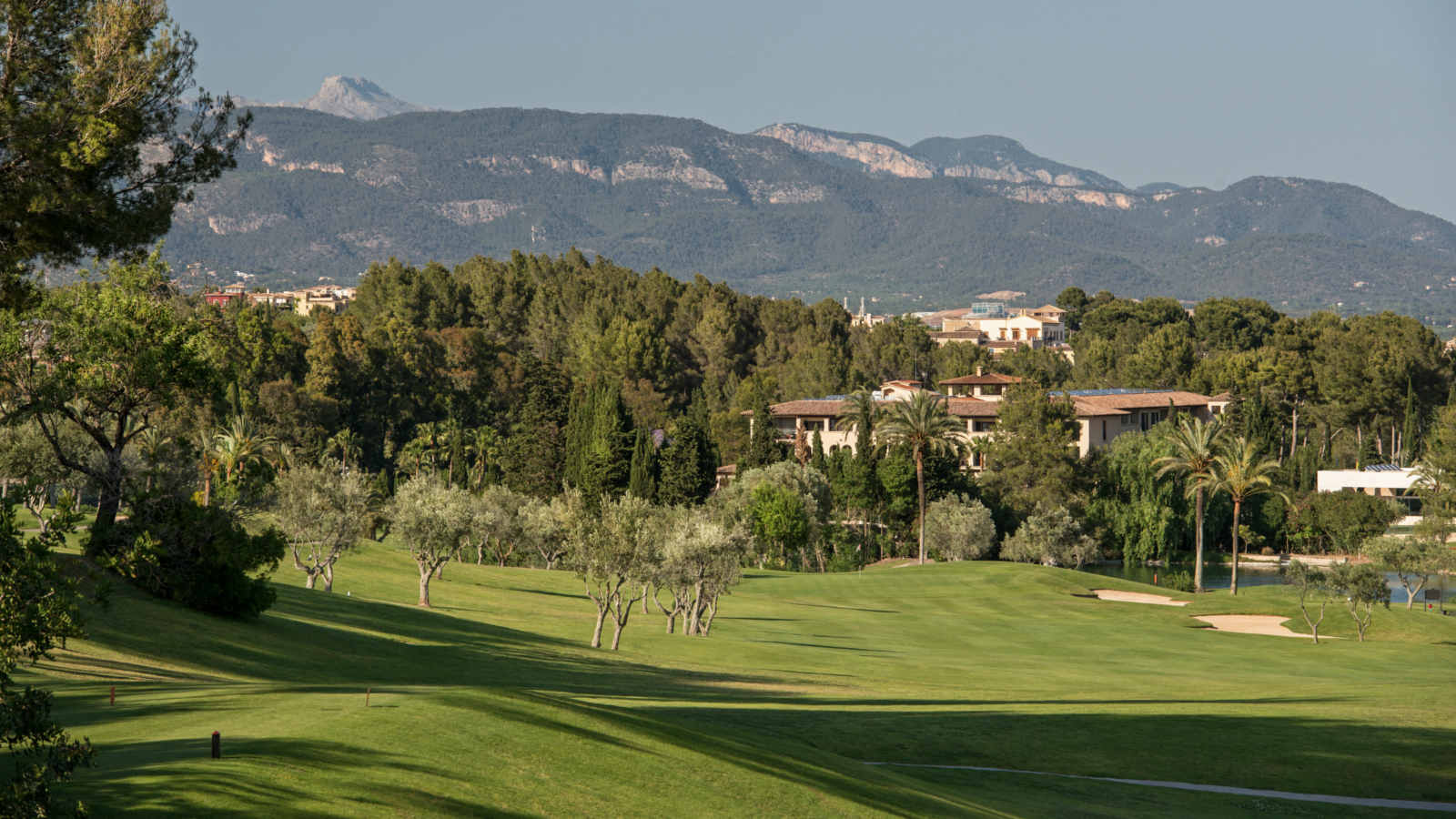 Son Vida golf course hosted two european tours at Sheraton Mallorca