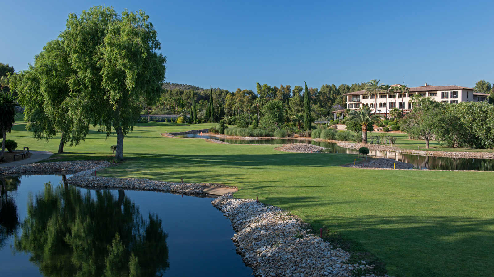 Son Vida golf course at Sheraton Mallorca Arabella Golf Hotel